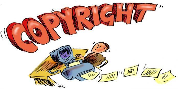 Sao chép bản quyền tác phẩm
