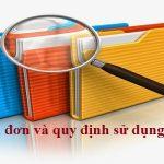 Thẩm định đơn và quy định sử dụng nhãn hiệu