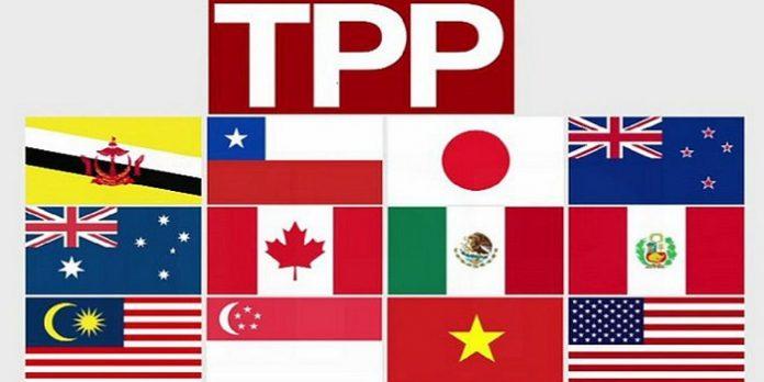 Hiệp định TPP và vòng tròn kinh tế giữa 12 quốc gia
