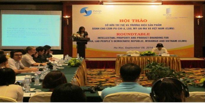 """Hội thảo """"Sở hữu trí tuệ và Thương hiệu sản phẩm"""" dành cho Căm-pu-chia, Lào, My-an-ma và Việt Nam"""